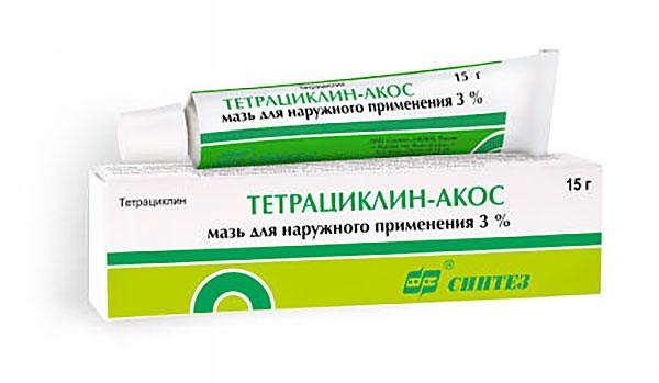 Мазь ТЕТРАЦИКЛИН-АКОС