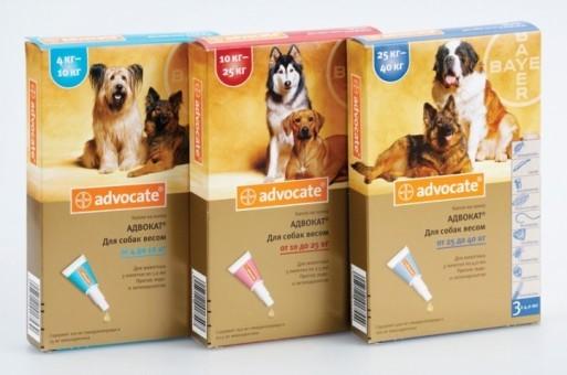 Капли для собак Bayer Advocate
