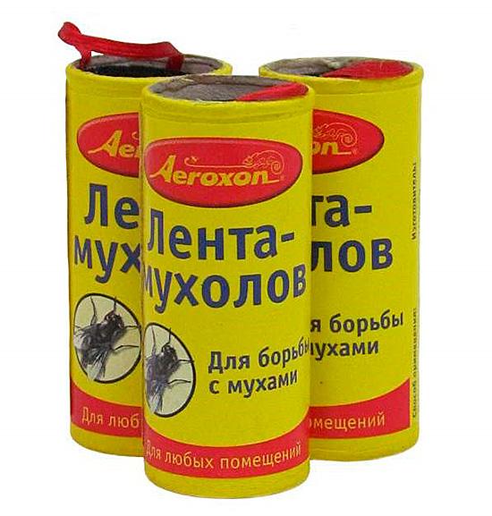 Лента-мухолов - для борьбы с мухами