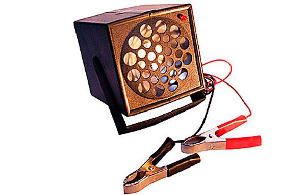 Устройство может комплектоваться клеммами для аккумулятора