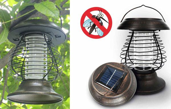 внешний вид лампы от комаров