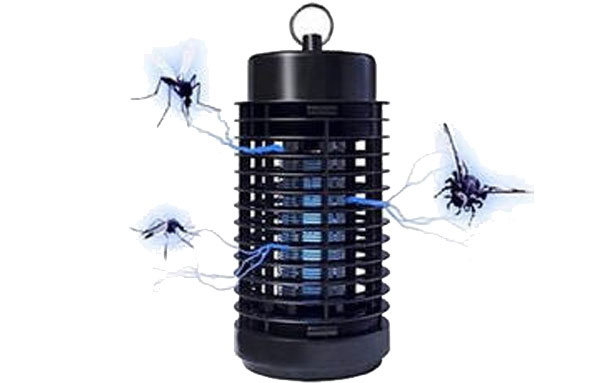 принцип работы лампы от комаров