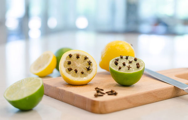 в лимоне гвоздика