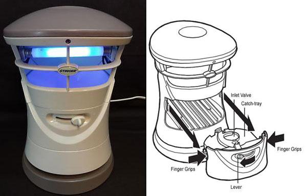 Электронная ультрафиолетовая ловушка