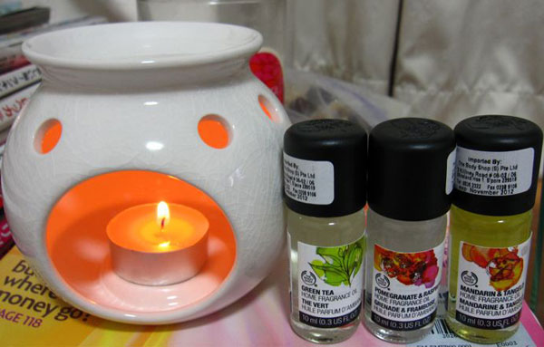аромалампа с маслами