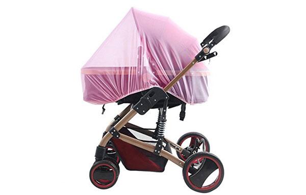 Москитная сетка на коляске в качестве защиты от комаров