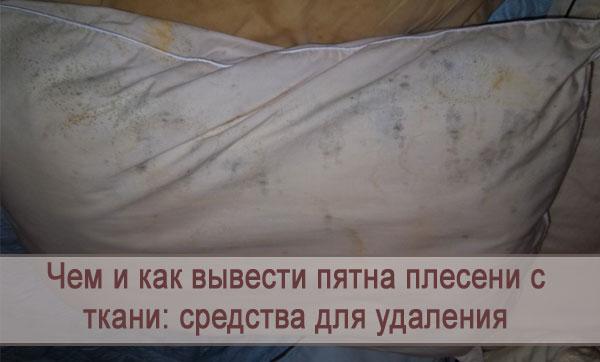 Средства для выведения пятен плесени с ткани