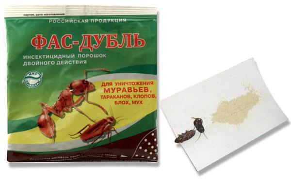 Средство от тараканов Фас Дубль