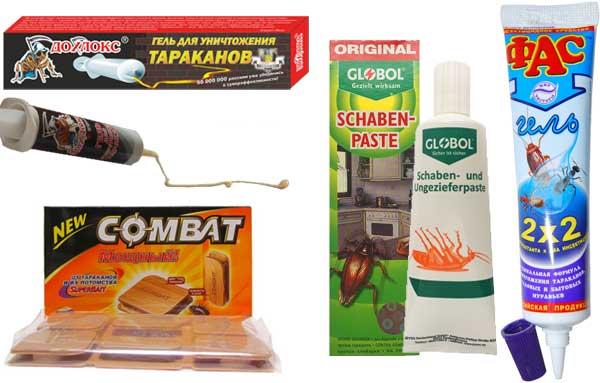 Эффективные гели и ловушки от тараканов