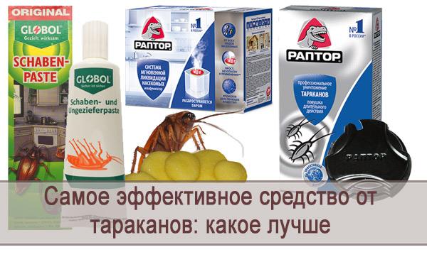 Самое лучшее и эффективное средство от тараканов